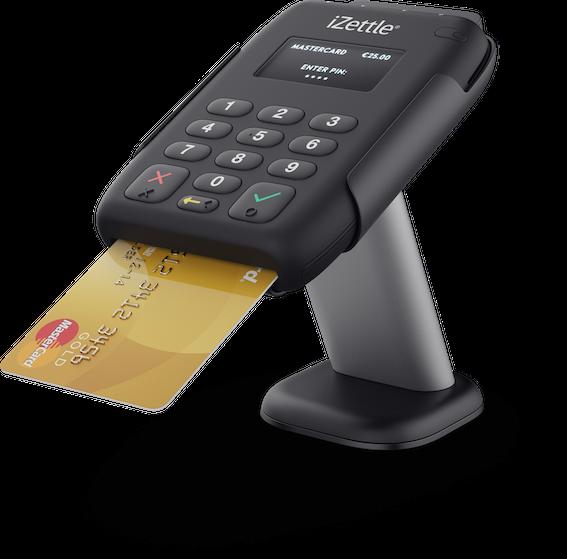 izettle-Kartenlesegerät - für Kartenzahlungen mit roc.Kasse