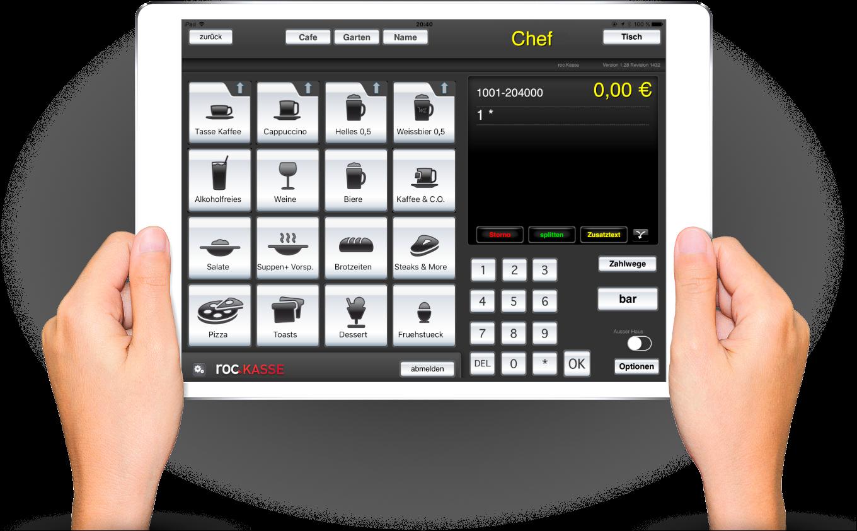 POS-Kassen und Retail-Apps von roc. - digitalisier' Dein Fachgeschäft!