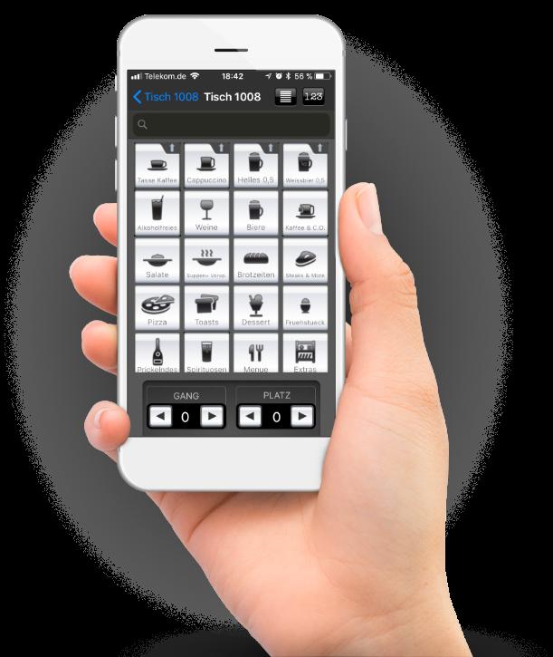 roc.Mobile, das Funkboniersystem fürs iPhone - nur von roc.!